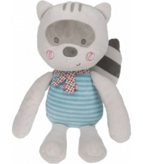 Peluche mapache niño Magic forest