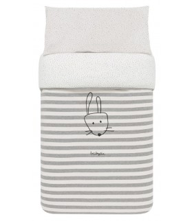 Saco nórdico ajustable 70x140 Sweet bunny