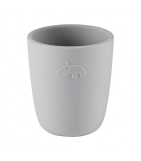 Vaso silicona Mini mug grey