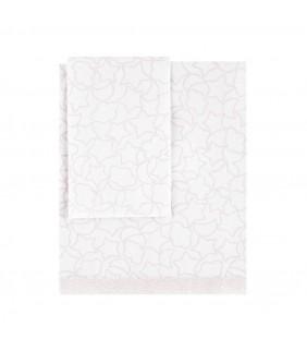 Sábanas cuna 70x140 Notte rosa