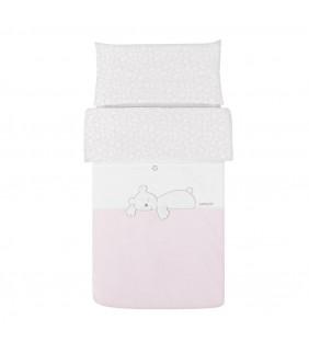 Funda nórdica 70x140 Dream rosa