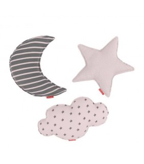 Set 3 cojines Little star