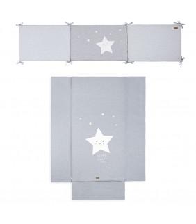 Colcha cuna 60x120 + protector Star