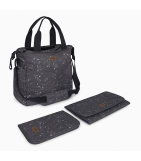 Bolso + cambiador + porta documentos Weekend constellation