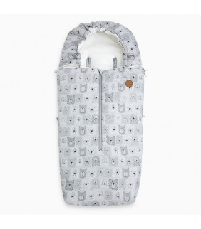 Saco silla de paseo Heady Weekend bears gris
