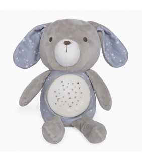 Peluche con proyector Weekend constellations gris