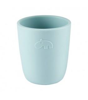 Vaso silicona Mini mug blue