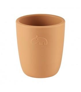 Vaso silicona Mini mug mustard