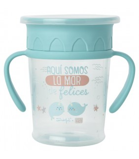 "Taza con asas Mr. Wonderful ""La mar de felices"""