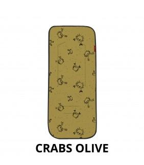 Colchoneta silla de paseo Crabs olive