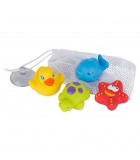 Juguetes de baño amiguitos colors
