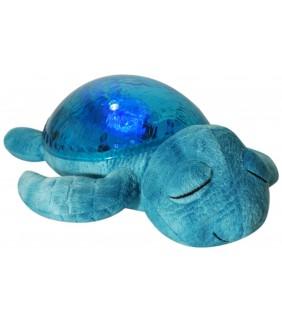 Proyector tortuga tranquila azul