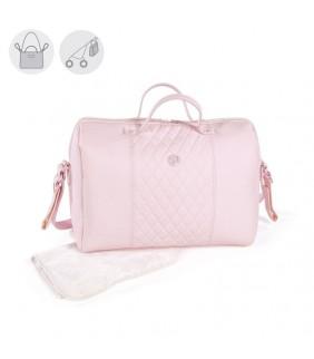 Bolsa María rosa