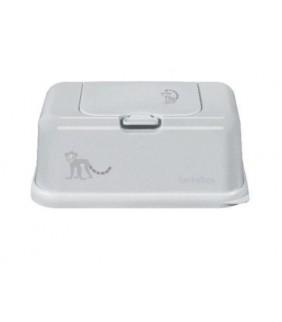 Funky box para toallitas Gris mono