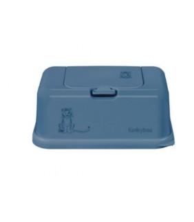 Funky box para toallitas Tigre azul