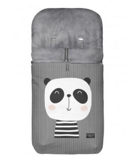 Saco silla de paseo Velour Panda