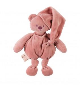 Peluche Lapidou oso light pink