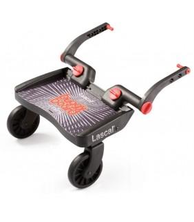 Patinete Buggy board mini 3D negro/logo rojo
