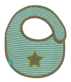 Babero mini Starlight olive