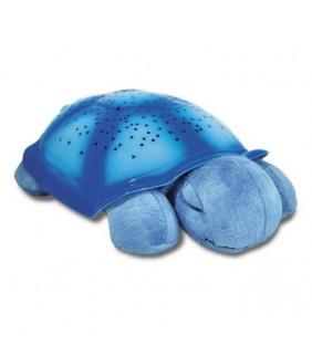 Proyector tortuga planetario azul