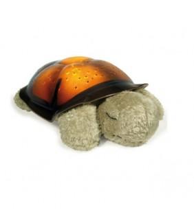 Proyector tortuga planetario marrón