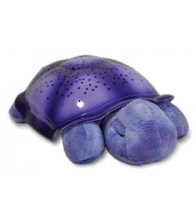 Proyector tortuga planetario lila