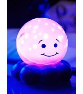 Proyector pulpo planetario rosa