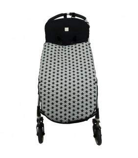 Saco silla de paseo universal polar Fun Black Star