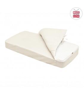Saco nórdico cuna ajustable 60x120 Star beige