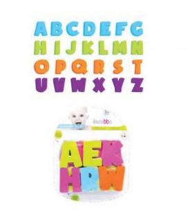 Figuras Eva para el baño Alphabets