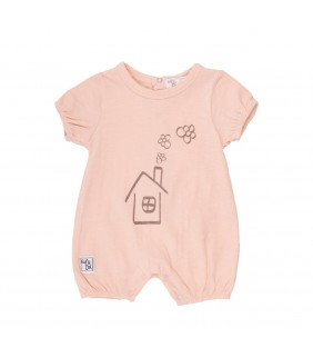 Pelele M/C House pink