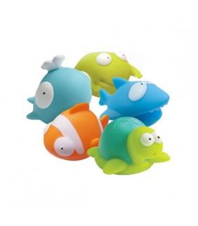 """Juguetes de baño """"Animalitos de agua"""""""