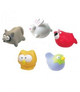 """Juguetes de baño """"Animalitos salvajes"""""""
