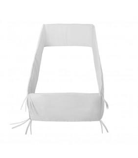 Protector cuna entero 60x120 blanco