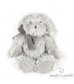 Peluche conejo Sweet tweed gris