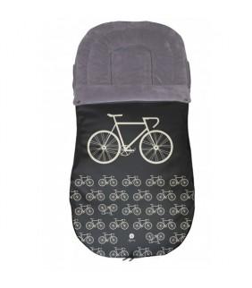 Saco silla de paseo universal Bicicleta negro