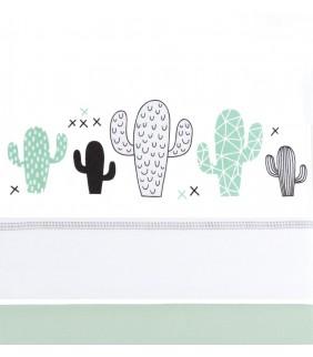 Sábanas cuna 70/80 Cactus