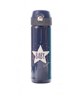 Termo líquidos 500ml Baby star Navy