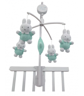 Carrusel musical Miffy mint