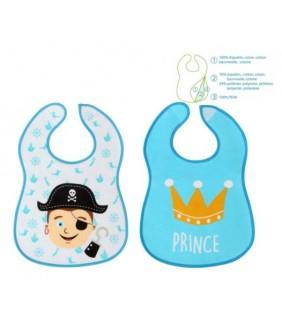 Pack 2 baberos plastificados Prince