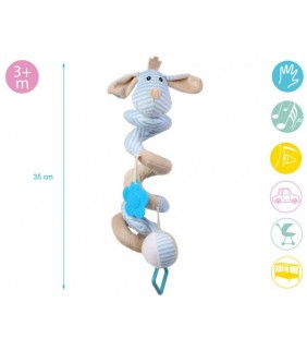 Espiral de juegos Perro azul