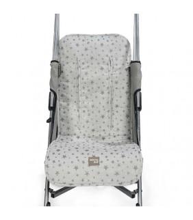 Colchoneta silla de paseo Inspiration gris