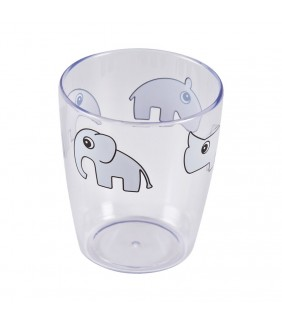 Vaso cristal Deer friends grey