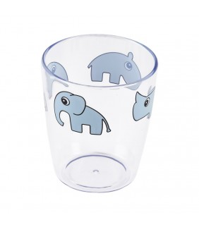 Vaso cristal Deer friends blue